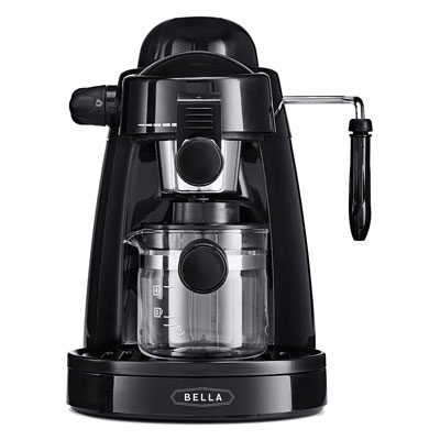 BELLA-Personal-Espresso-Maker-with-Built-in-Steam-Wand-and-5-Bar-Pressure