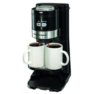 Hamilton-Beach-Coffee-Maker,-Grind-and-Brew-Single-Serve