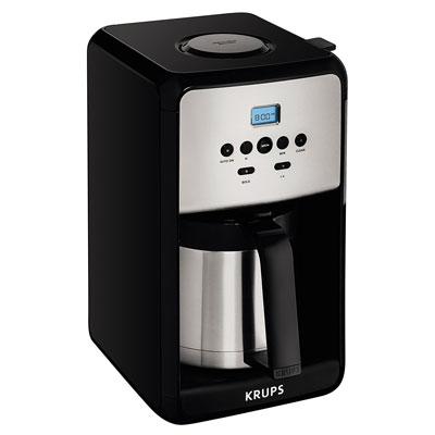 KRUPS-ET351-SAVOY-Programmable-Thermal-Stainless-Steel-Filter-Coffee-Maker-Machine-with-Bold-and-1-4-Cup-Function
