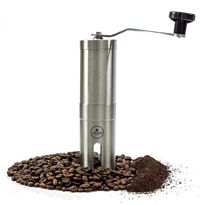 EZE-Hand-Burr-Coffee-Grinder-Most-Consistent-Hand-Coffee-Grinder-&-Coffee-Press