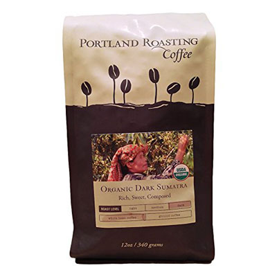 Organic-Coffee-Beans-by-Portland-Roasting-Company,-Dark-Sumatra-Blend
