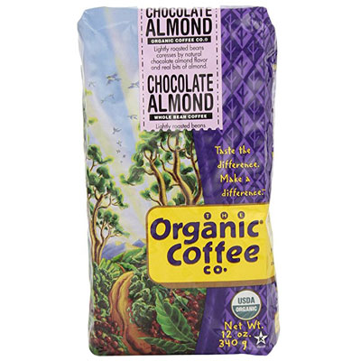 The-Organic-Coffee-Co.,-Chocolate-Almond-Whole-Bean