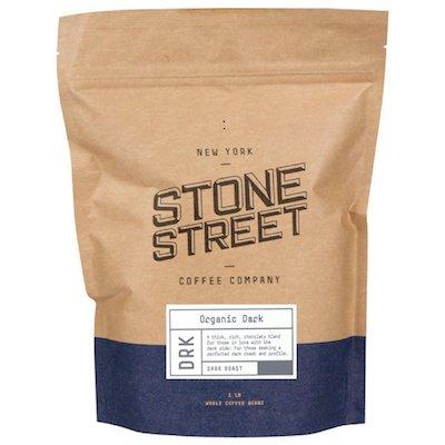 15-Stone Street Coffee Dark Roast Organic Whole Bean Coffee