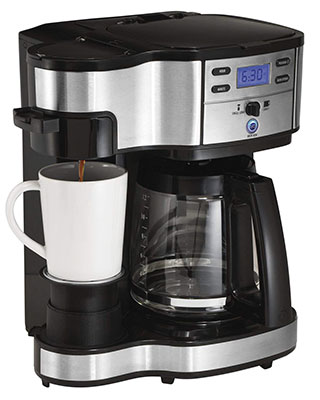 Hamilton-Beach-(49980A)-Single-Serve-Coffee-Maker-and-Coffee-Pot-Maker-small-pot