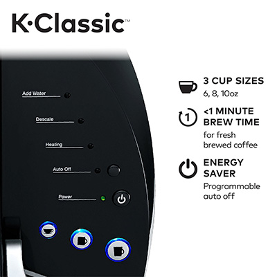 Keurig-K55_K-Classic-Coffee-Maker-controls