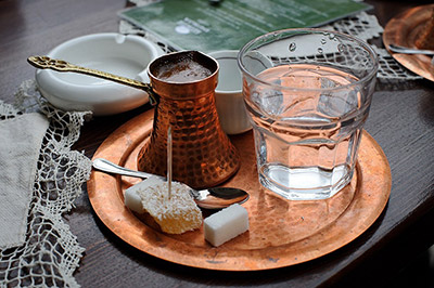 Turkish-coffee-served